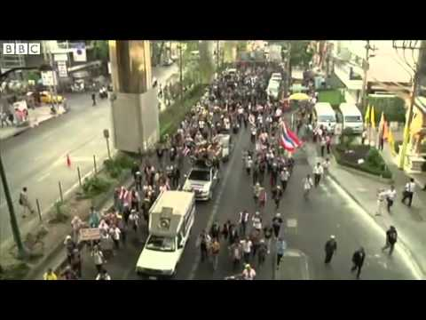 Thailand poll talks amid fresh anti government protests