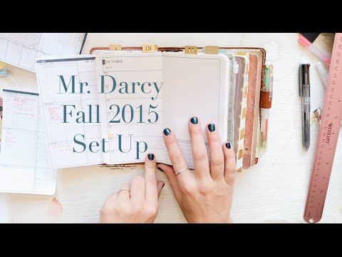 My Dear Mr. Darcy's Fall 2015 Setup