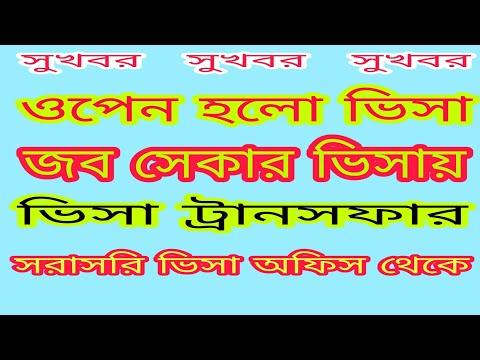 #uae_visa_bangla_news। আবার খুলছে আরব আমিরাতের ভিসা। khule gelo abaro dubai visa