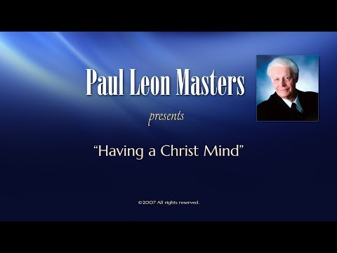 Having a Christ Mind
