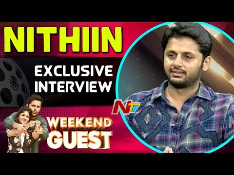 Hero Nithiin Exclusive Interview || Chal Mohan Ranga || Weekend Guest || NTV