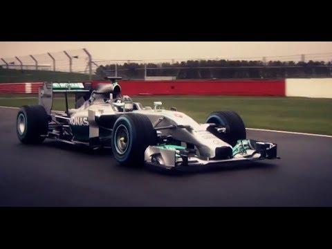 2014 Mercedes F1 AMG Hybrid Petronas Tribute Commercial Mercedes F1 W05 Hybrid CARJAM TV 2014