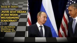 Putin setzt Obama in der