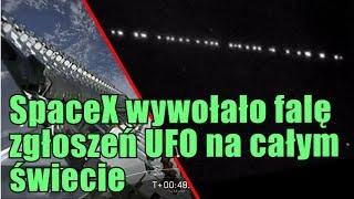 Rój satelitów firmy SpaceX spowodował falę doniesień o UFO!