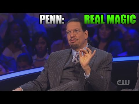 Penn says Magic is Real. Yif DOES NOT need CGI to do 'MAGIC'.