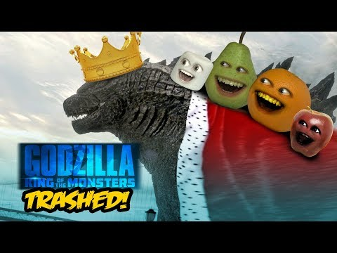 Annoying Orange  GODZILLA: King of the Monsters TRAILER Trashed!!