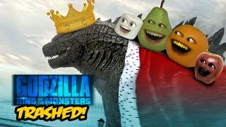 Annoying Orange - GODZILLA: King of the Monsters TRAILER Trashed!!