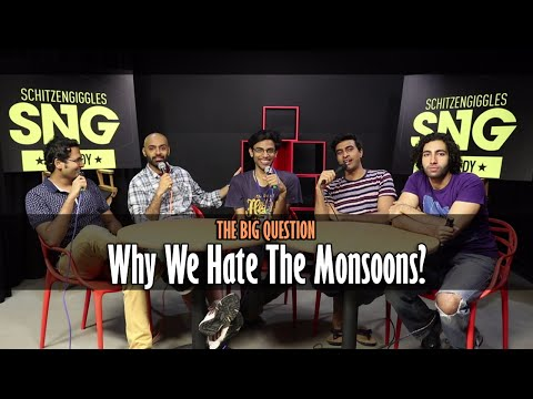 SnG: Why We Hate The Monsoons? Feat. Biswa Kalyan Rath | The Big Question Episode 16 | Video Podcast