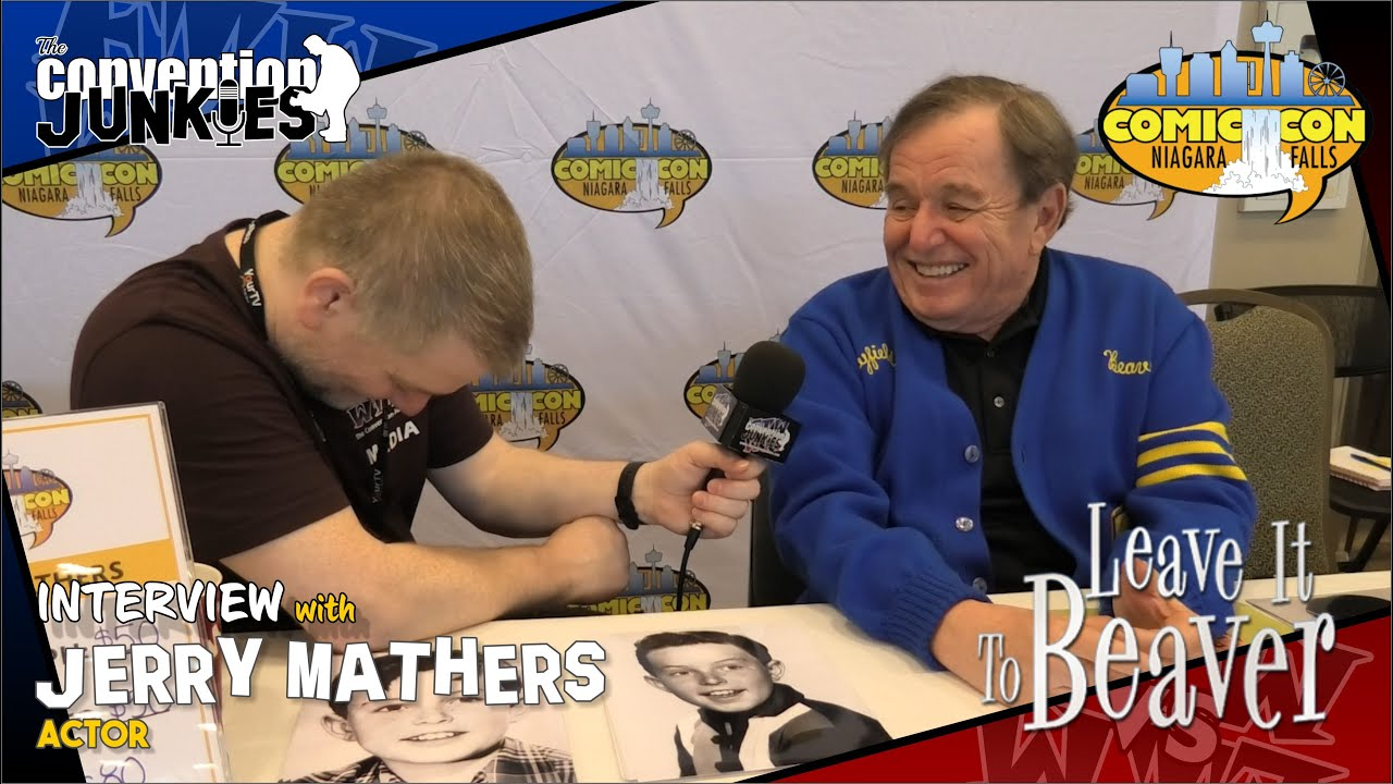 Interview with Jerry Mathers (Theodore Cleaver in Leave it to Beaver) Niagara Falls Comic Con 2019