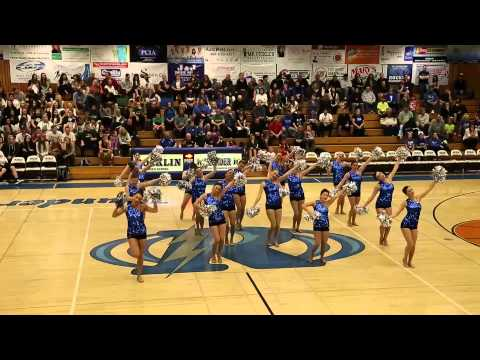 Rocklin High School Dance Team January 24, 2014 Varsity Pom Performance
