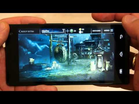 Пример работы игр на смартфоне DEXP IXION MS150 (GLIDER)