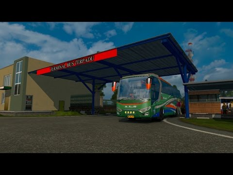 Euro Truck Simulator 2 : [LIVE] #07 Tour In Sumatra Season 2 l Mod Indonesia