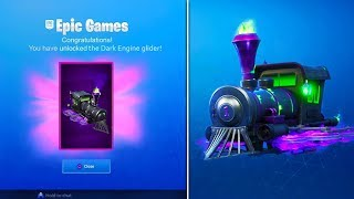 How to UNLOCK *FREE* DARK ENGINE GLIDER in Fortnite! (Fortnitemare Full Challenges Guide)
