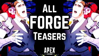 'THE FORGE' DEAD!? ALL 10 OFFICIAL TEASERS SO FAR & FREE CHARM UPDATE! Apex Legends Season 4