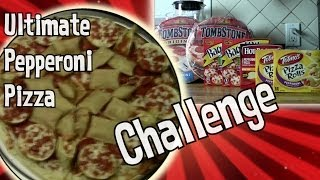 Ultimate Pepperoni Pizza | Pizza Hot Pockets Bagel Bites Pizza Rolls Love Fest