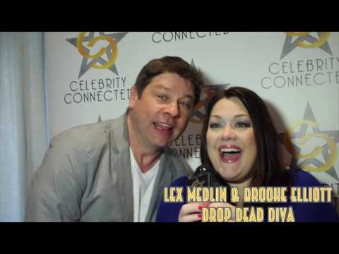 Drop Dead Diva stars Brooke Elliott and Lex Medlin talk Celebrity Connected