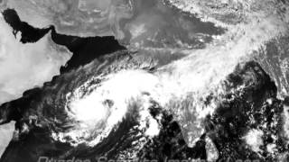"LIFE CYCLE VIDEO OF TROPICAL CYCLONE ""NILOFAR"""