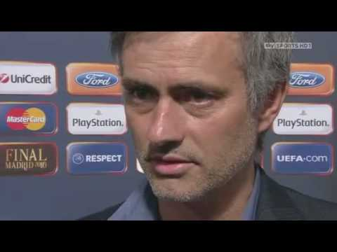 Interview with Jose Mourinho after the Champions League 09/10 final match