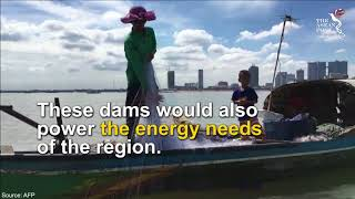 Dams threaten Mekong river
