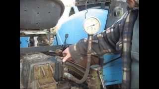 Regulacja ciśnienia w układzie hydraulicznym podnośnika.