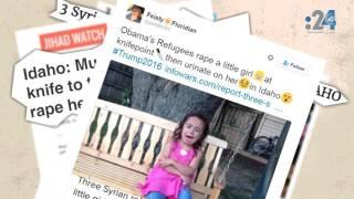 خبر ليس خبرا (2): لاجئون سوريون يغتصبون طفلة أمريكية