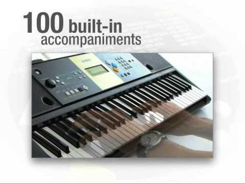 """Yamaha YPT220 61 Key Portable Keyboard at Toys""""R""""Us"""