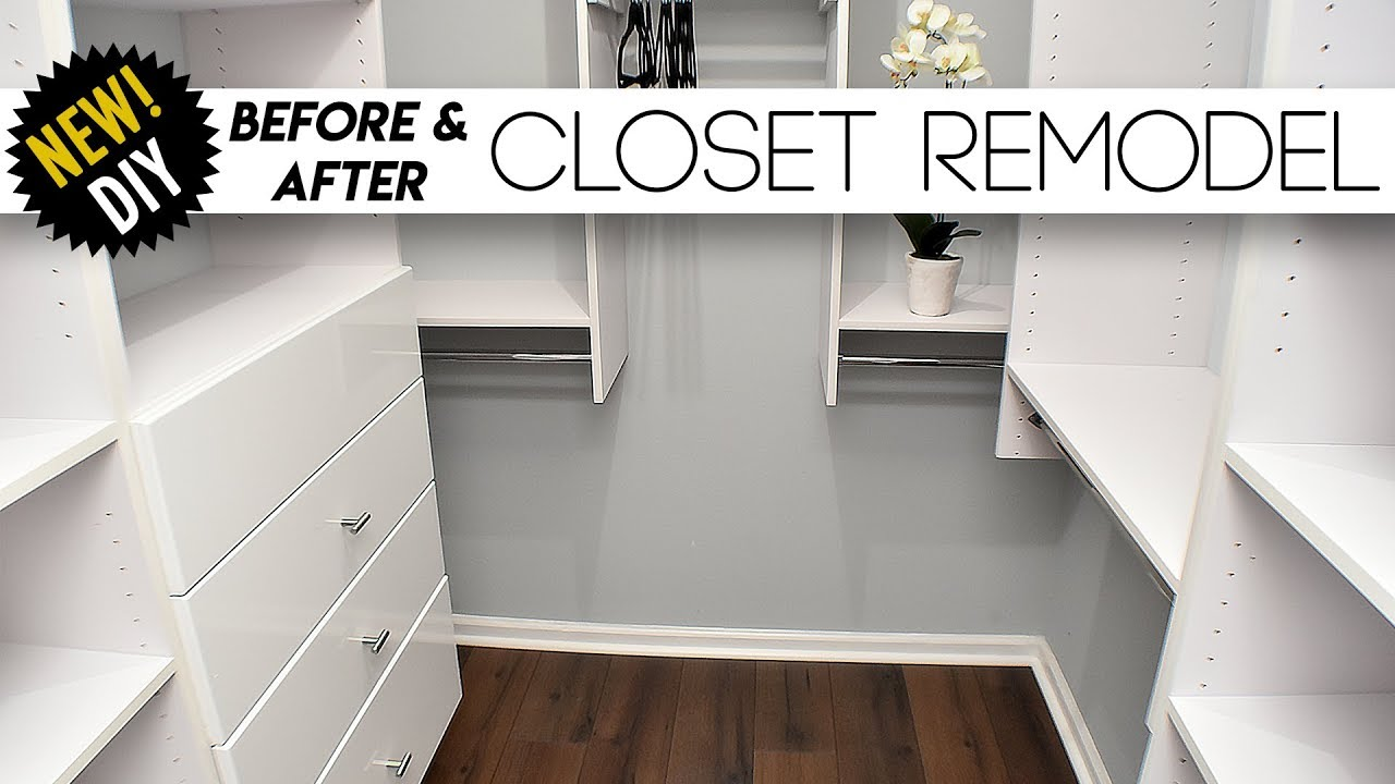 Delicieux CLOSET Remodel // Surprising The Parents With A New Closet // Small Closet  Ideas