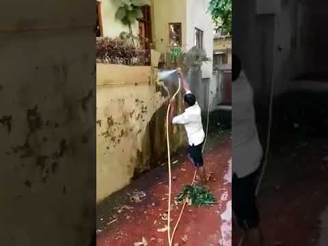 how to do Jet wash Cleaning - Bombay Painting Contractors