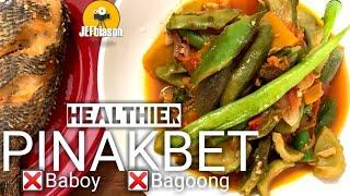 Healthier Pinakbet Recipe: Walang bagoong at baboy