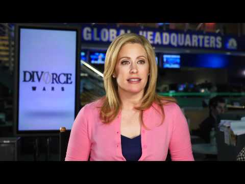 "CNBC's Melissa Francis talks about her new show ""Divorce Wars"" premiering tonight - 3/29/11"