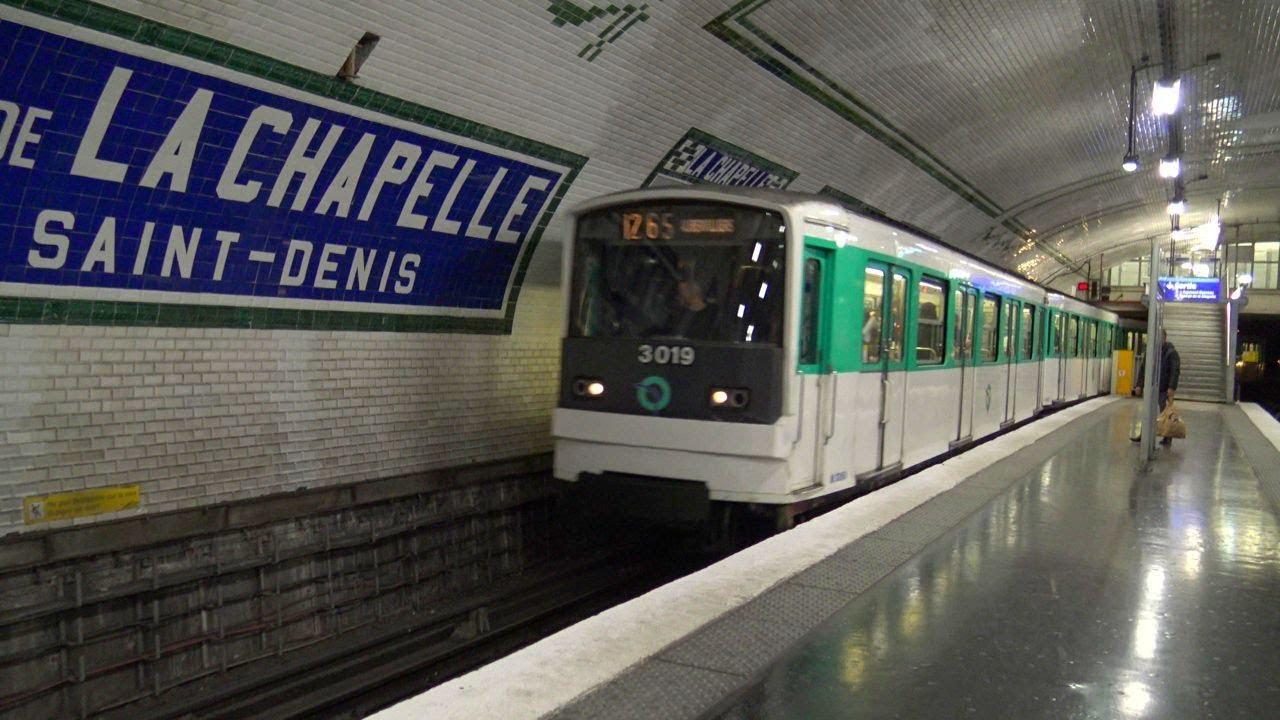 metro 12 porte de la chapelle