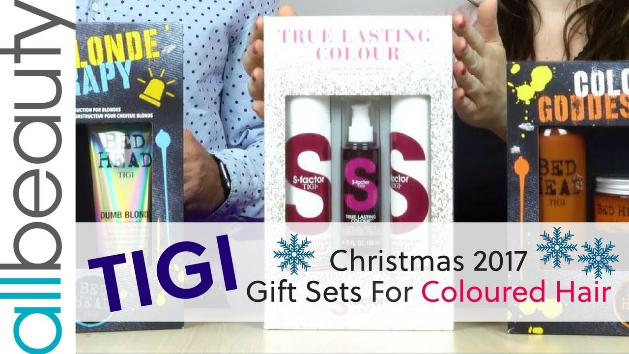 **TIGI Bed Head Christmas 2017** Gift Sets For Coloured Hair