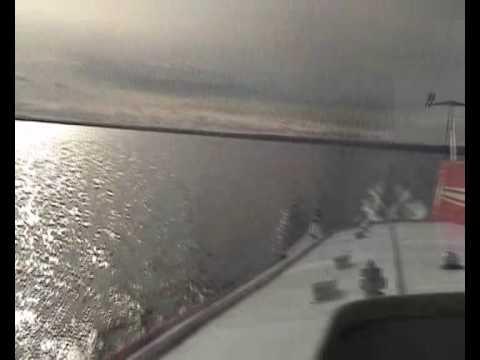 'flying' over Lake Onega (Онежское озеро)