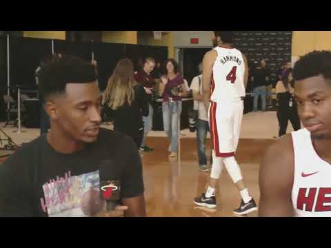 Hassan Whiteside Interview - Miami Heat Media Day - Sep 25, 2017 - 2017 18 NBA Season