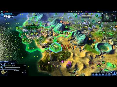 "Civilization Beyond Earth: Brasilia ep. 12 ""Road-System Complete"""