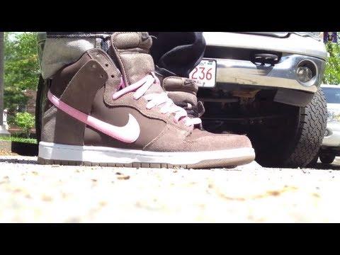 Nike SB Dunk High Pro On Feet \