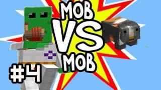 Minecraft: 100+ Floobs (Aliens) vs 100 Guinea Pigs Mob vs Mob & 100k Thank You