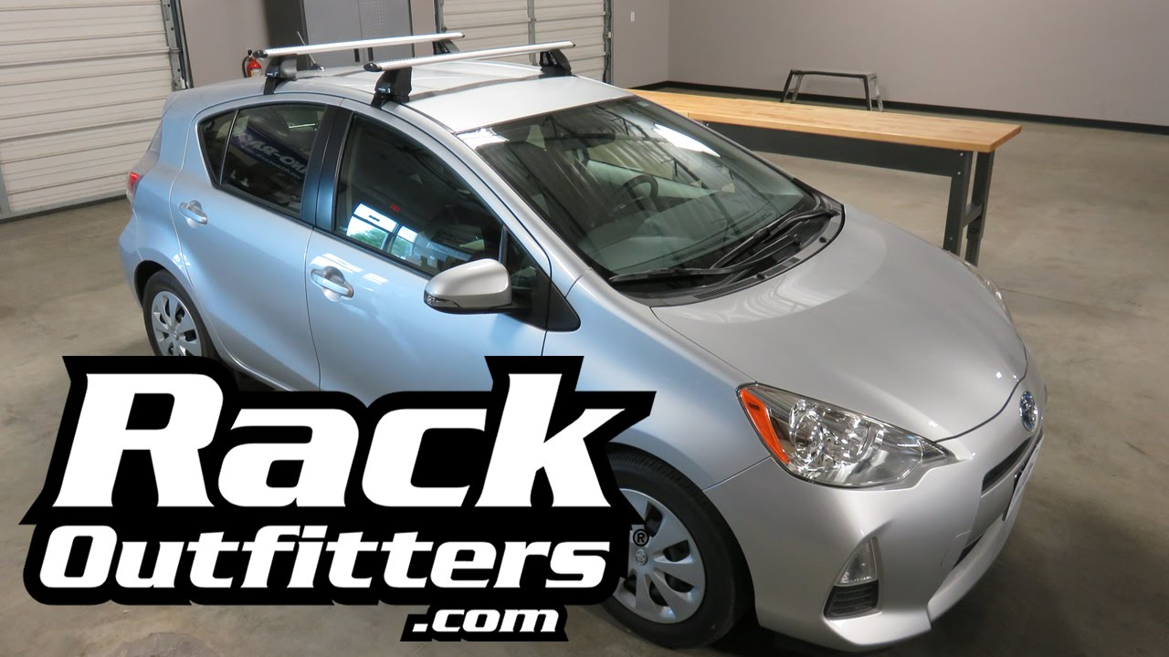 High Quality Toyota Prius C Rhino Rack 2500 Vortex Roof Rack Crossbars