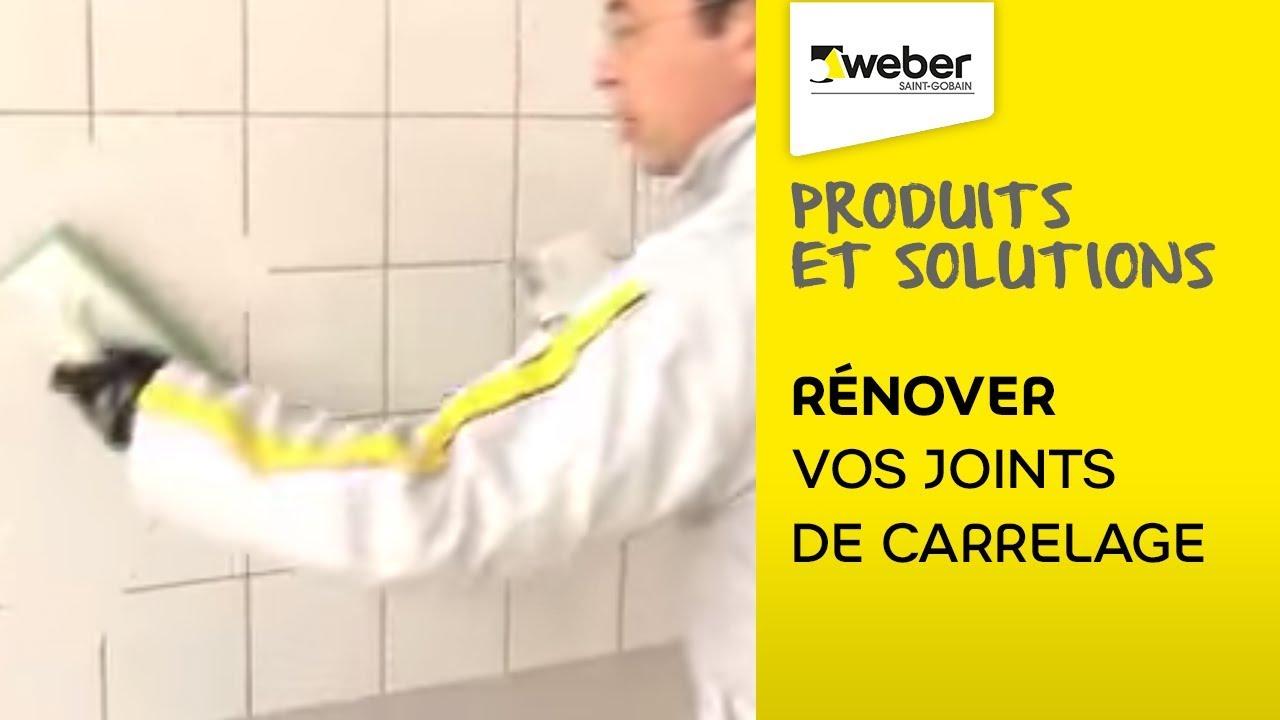 Comment Renover Vos Joints De Carrelage La Solution Weberjoint Pate Weber Youtube