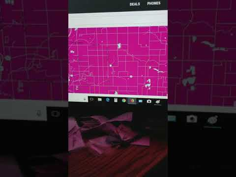 T Mobile Coverage Map Junk And Lies.MUST ZOOM TO STREET LEVEL No Service Michigan Country Driving