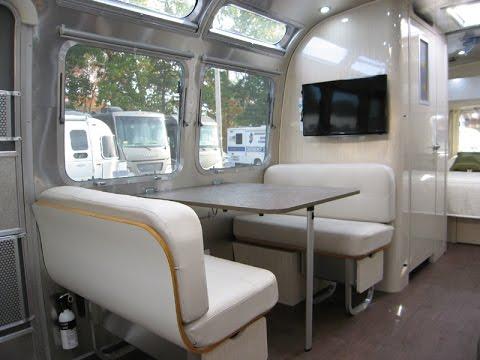 Vintage Meets Modern 2016 Airstream International Serenity 28W - YouTube