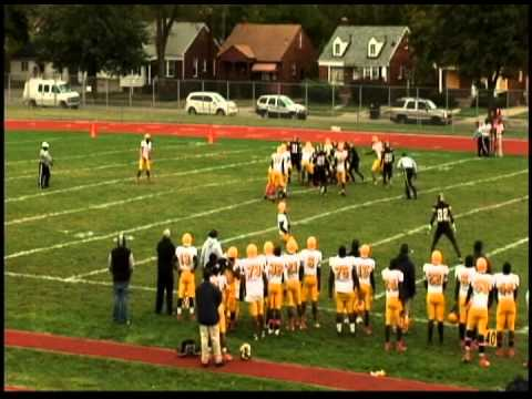 Detroit King High School #45/#52 LeShawn McGuire Senior Highlights