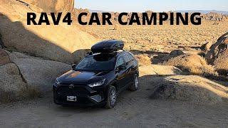 Road Trip & Cąr Camping in a RAV4 | Eastern Sierras & Alabama Hills BLM Campground
