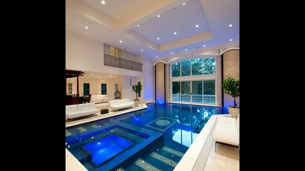 Mansions with Pools Inside
