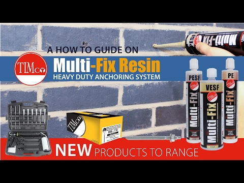 "TIMco Multi Fix Resin - ""How To Tuesday"" - Chemical Heavy Duty Resin"