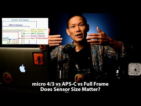 micro 4/3 vs APS-C vs Full Frame - Does (sensor) Size Matter?