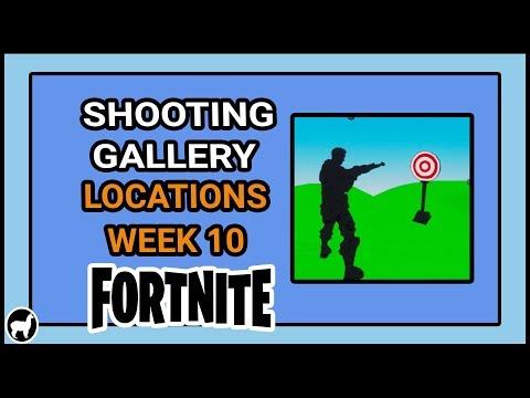 Fortnite Shooting Gallery Locations Week 10 Season 7   Wailing Woods Shooting Gallery