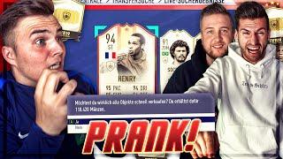 Prank bei ICON Discard CHALLENGE (bald keine Coins mehr) FIFA 19