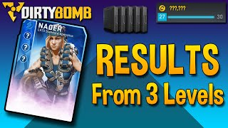 Level Up! - Rewards From 1,200,000 Exp (Dirty Bomb)