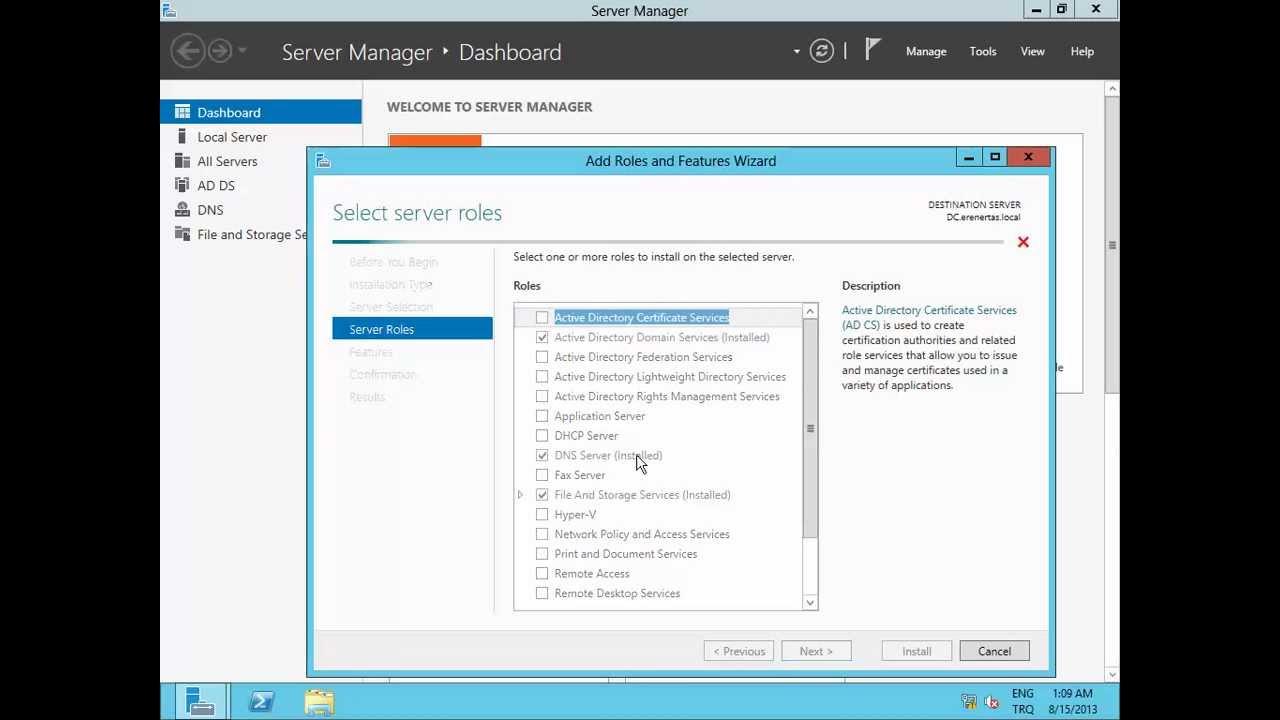 Microsoft windows server 2012 certification authority kurulum microsoft windows server 2012 certification authority kurulum xflitez Images